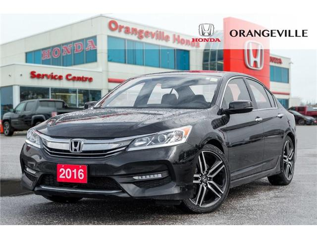 2016 Honda Accord Sport (Stk: C190170) in Orangeville - Image 1 of 20