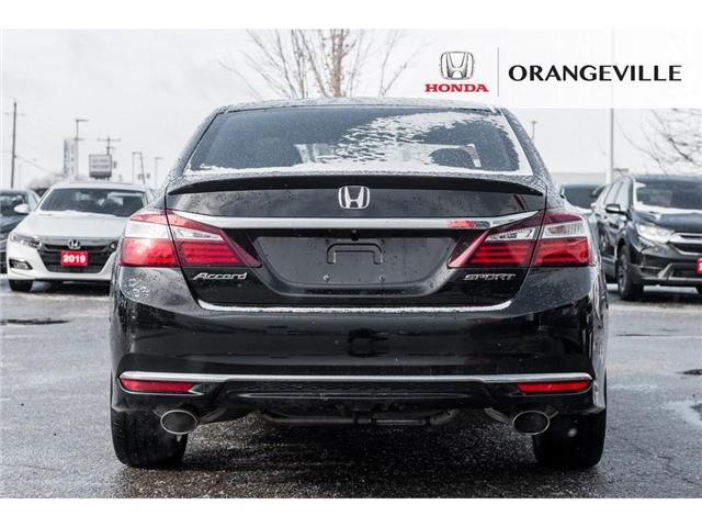 2016 Honda Accord Sport (Stk: C190170) in Orangeville - Image 6 of 20