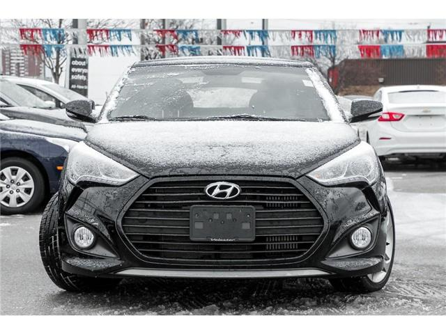 2013 Hyundai Veloster  (Stk: H258695T) in Mississauga - Image 2 of 19