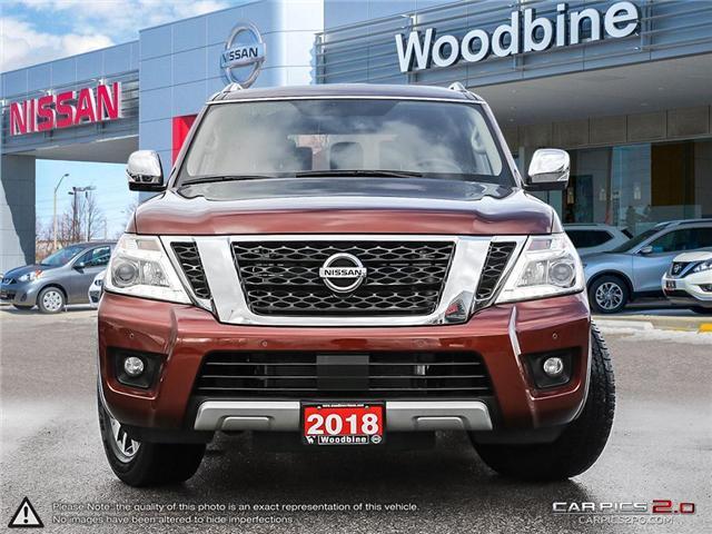 2018 Nissan Armada SL (Stk: P7202) in Etobicoke - Image 2 of 26