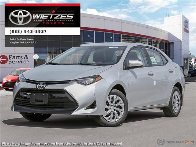 2019 Toyota Corolla LE (Stk: 68034) in Vaughan - Image 1 of 24