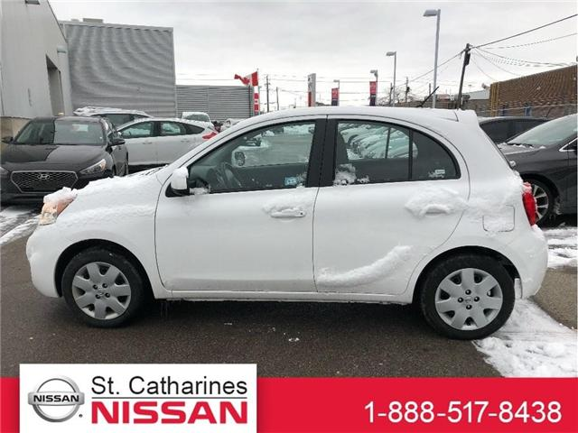 2017 Nissan Micra SV (Stk: P2194) in St. Catharines - Image 1 of 5