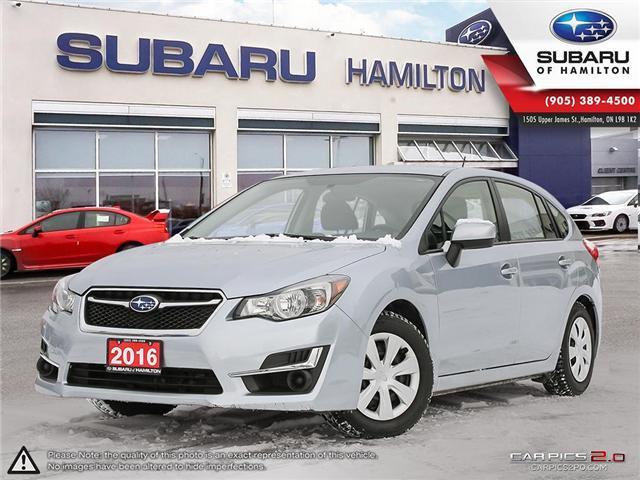 2016 Subaru Impreza 2.0i (Stk: U1402) in Hamilton - Image 1 of 28