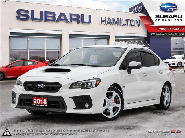 2018 Subaru WRX Sport-tech (Stk: S7476A) in Hamilton - Image 1 of 28
