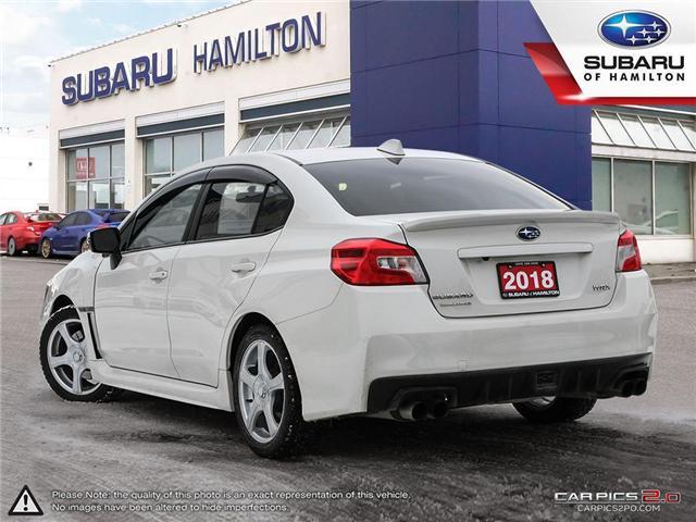 2018 Subaru WRX Sport-tech (Stk: S7476A) in Hamilton - Image 4 of 28