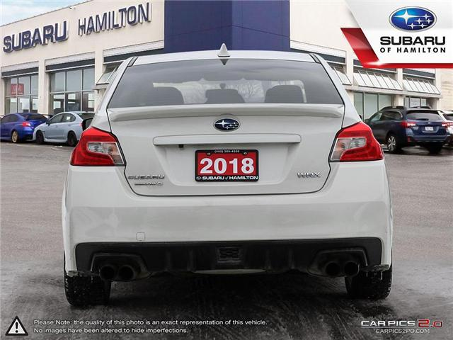 2018 Subaru WRX Sport-tech (Stk: S7476A) in Hamilton - Image 5 of 28
