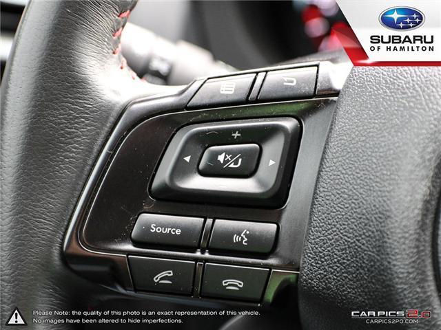 2018 Subaru WRX Sport-tech (Stk: S7476A) in Hamilton - Image 11 of 28