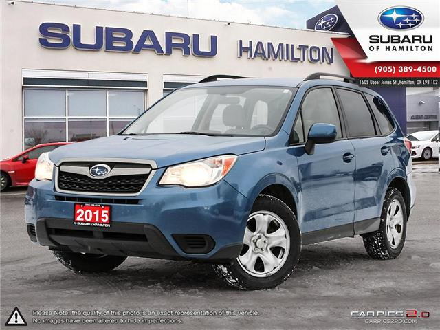 2015 Subaru Forester 2.5i (Stk: U1403) in Hamilton - Image 1 of 26