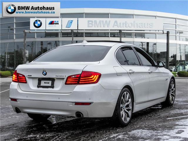2014 BMW 535i xDrive (Stk: P8612A) in Thornhill - Image 5 of 29