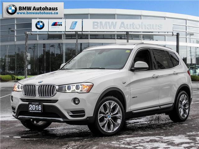 2016 BMW X3 xDrive28i (Stk: P8758) in Thornhill - Image 1 of 22
