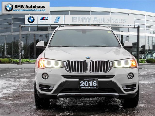 2016 BMW X3 xDrive28i (Stk: P8758) in Thornhill - Image 2 of 22