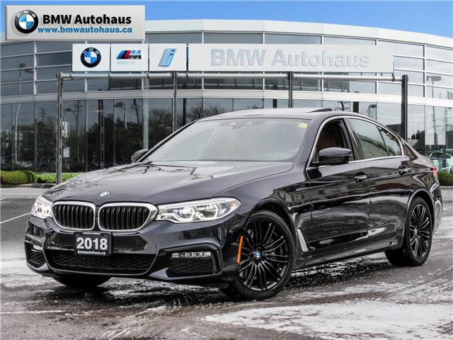 2018 BMW 540i xDrive (Stk: P8762) in Thornhill - Image 1 of 35