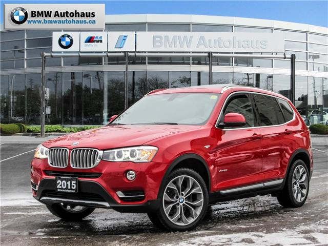 2015 BMW X3 xDrive28i (Stk: P8770) in Thornhill - Image 1 of 28