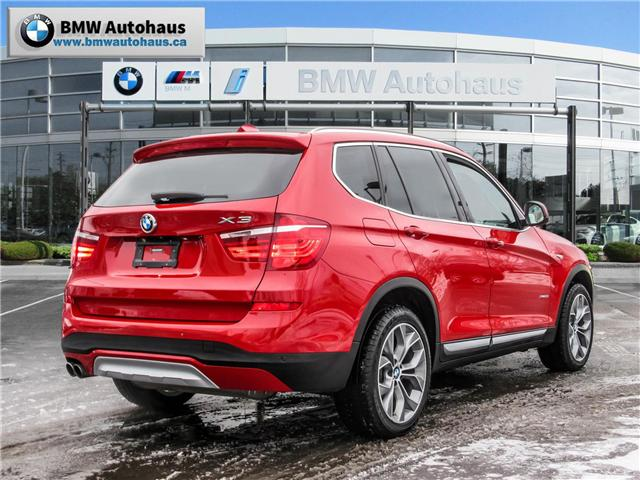 2015 BMW X3 xDrive28i (Stk: P8770) in Thornhill - Image 5 of 28