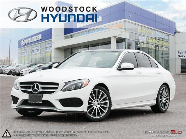2015 Mercedes-Benz C-Class Base (Stk: SE19013A) in Woodstock - Image 1 of 27