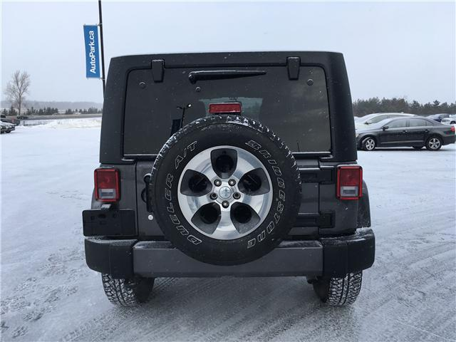 2018 Jeep Wrangler JK Unlimited Sahara (Stk: 18-73297RJB) in Barrie - Image 6 of 27