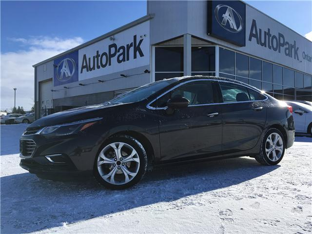 2017 Chevrolet Cruze Premier Auto (Stk: 17-31984RJB) in Barrie - Image 1 of 29