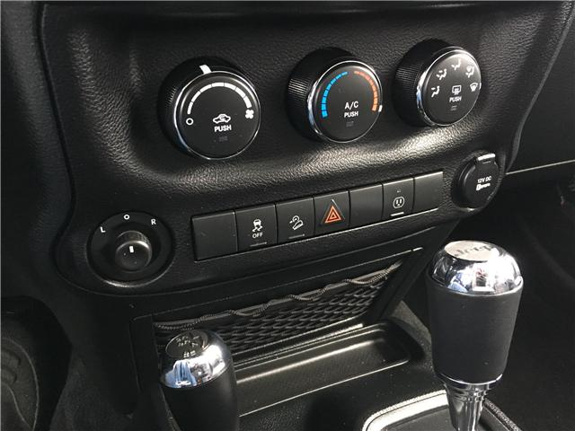 2018 Jeep Wrangler JK Unlimited Sahara (Stk: 18-73297RJB) in Barrie - Image 25 of 27