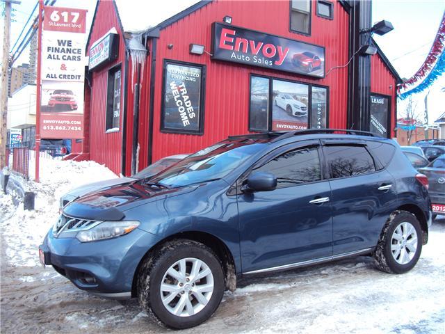 2012 Nissan Murano SL (Stk: ) in Ottawa - Image 1 of 30