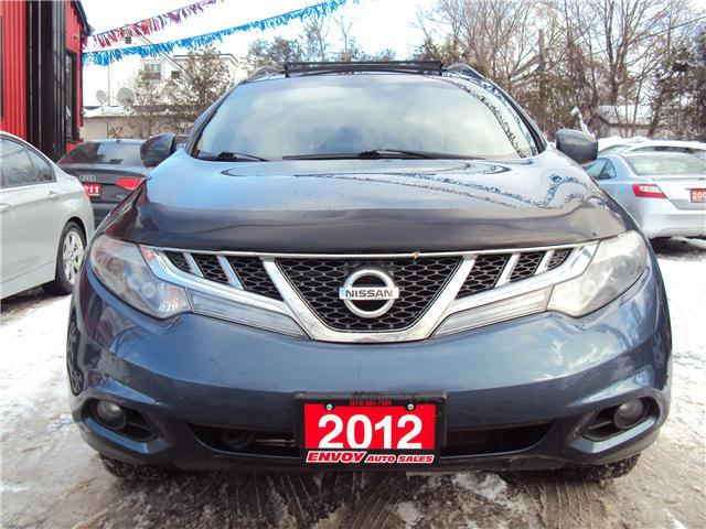 2012 Nissan Murano SL (Stk: ) in Ottawa - Image 2 of 30