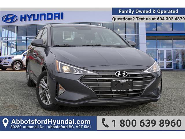 2019 Hyundai Elantra Preferred (Stk: KE813489) in Abbotsford - Image 1 of 26