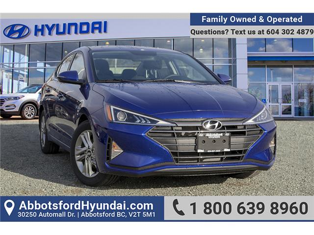 2019 Hyundai Elantra Preferred (Stk: KE828133) in Abbotsford - Image 1 of 24