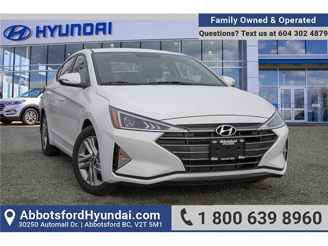 2019 Hyundai Elantra Preferred (Stk: KE830640) in Abbotsford - Image 1 of 26