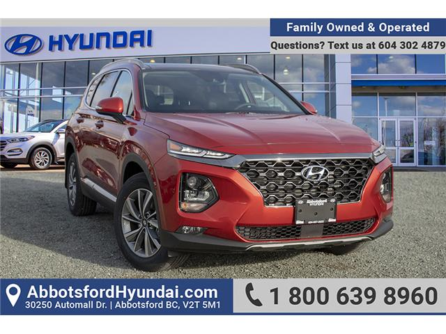 2019 Hyundai Santa Fe Luxury (Stk: KF071790) in Abbotsford - Image 1 of 26