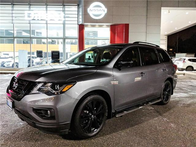 2018 Nissan Pathfinder SL MIDNIGHT EDITION MANAGER DEMO (Stk: N3062) in Mississauga - Image 1 of 8