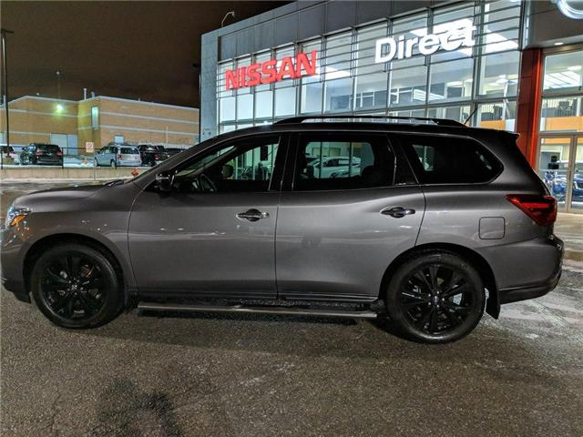 2018 Nissan Pathfinder SL MIDNIGHT EDITION MANAGER DEMO (Stk: N3062) in Mississauga - Image 7 of 8