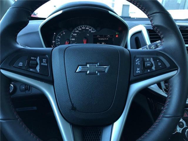 2018 Chevrolet Sonic RS||Bluetooth|Apple CarPlay|Wifi|Sunroof| (Stk: PA17757) in BRAMPTON - Image 13 of 17