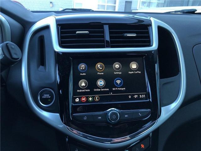2018 Chevrolet Sonic RS||Bluetooth|Apple CarPlay|Wifi|Sunroof| (Stk: PA17757) in BRAMPTON - Image 14 of 17