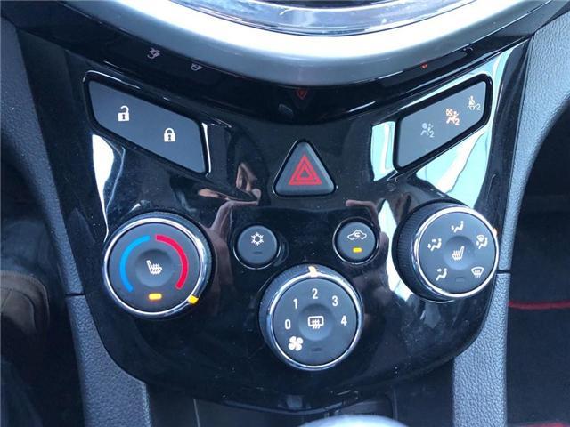 2018 Chevrolet Sonic RS||Bluetooth|Apple CarPlay|Wifi|Sunroof| (Stk: PA17757) in BRAMPTON - Image 16 of 17