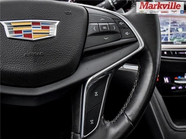 2017 Cadillac XT5 LUXURY-NEW TIRES-GM CERTIFIED PRE-OWNED-1 OWNER (Stk: 124039A) in Markham - Image 22 of 25
