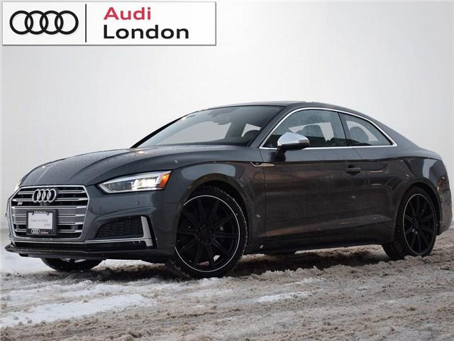 2018 Audi S5 3.0T Technik (Stk: 400399A) in London - Image 1 of 26