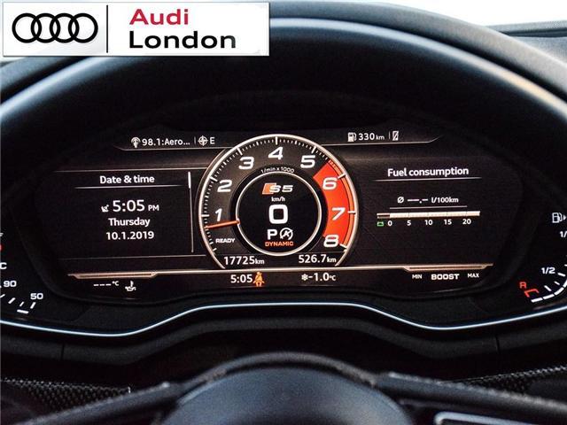 2018 Audi S5 3.0T Technik (Stk: 400399A) in London - Image 19 of 26