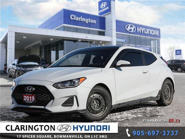 2019 Hyundai Veloster Turbo (Stk: U801A) in Clarington - Image 1 of 27