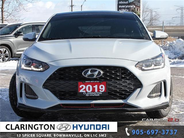 2019 Hyundai Veloster Turbo (Stk: U801A) in Clarington - Image 2 of 27