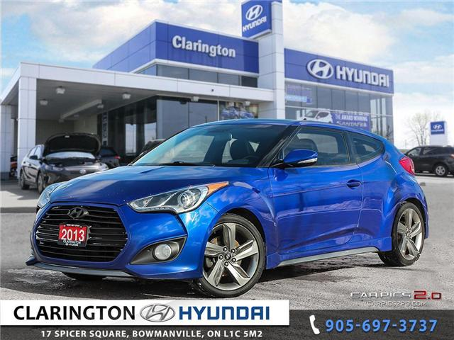 2013 Hyundai Veloster Turbo (Stk: 17787A) in Clarington - Image 1 of 27