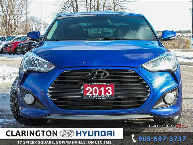 2013 Hyundai Veloster Turbo (Stk: 17787A) in Clarington - Image 2 of 27