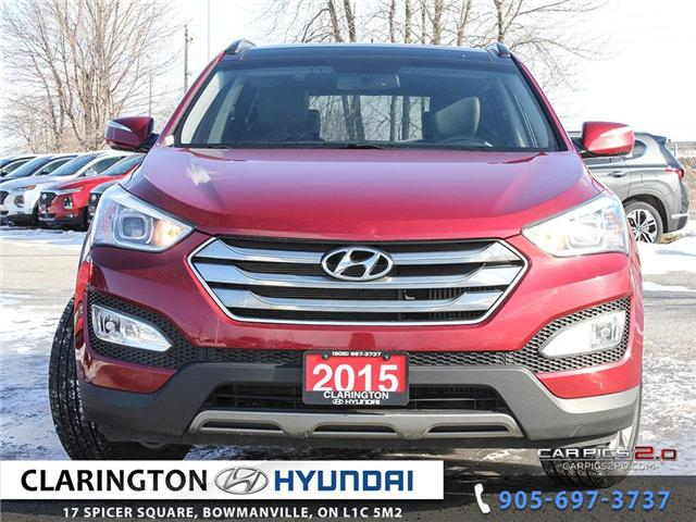 2015 Hyundai Santa Fe Sport 2.0T Limited (Stk: 19005A) in Clarington - Image 2 of 27
