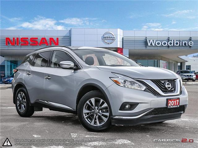 2017 Nissan Murano SV (Stk: P7193) in Etobicoke - Image 1 of 20