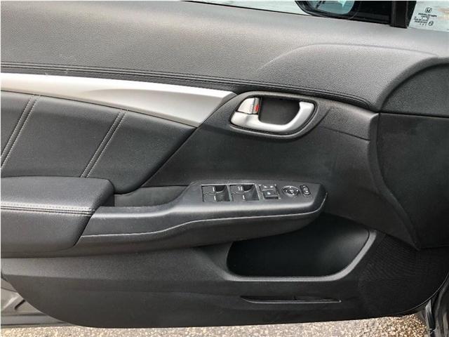 2013 Honda Civic Touring (Stk: SF125) in North York - Image 12 of 21