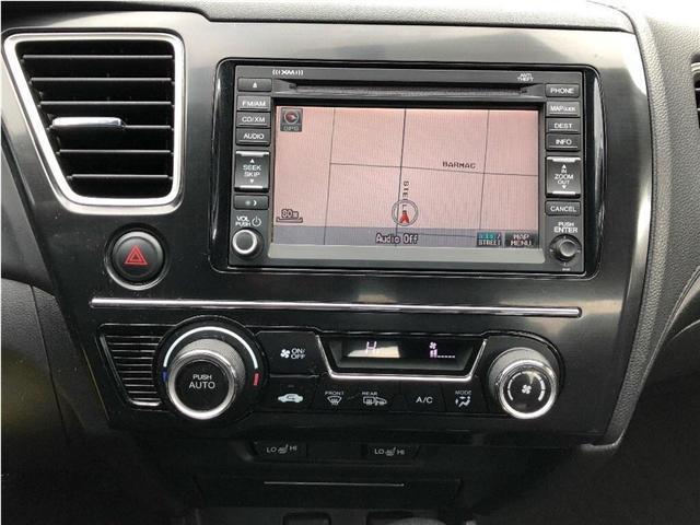 2013 Honda Civic Touring (Stk: SF125) in North York - Image 17 of 21