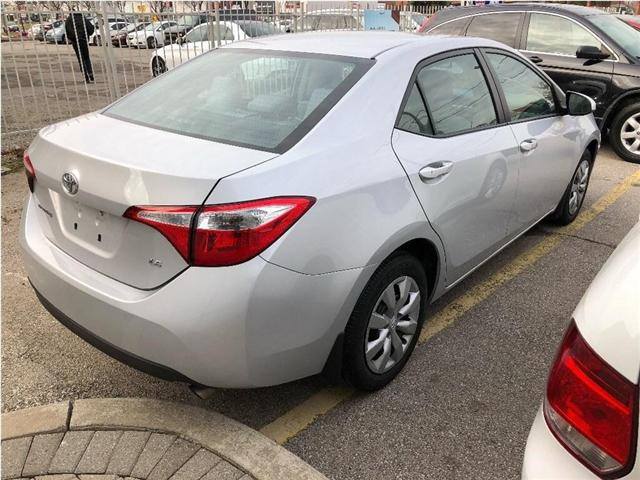 2014 Toyota Corolla LE (Stk: SF122) in North York - Image 3 of 17