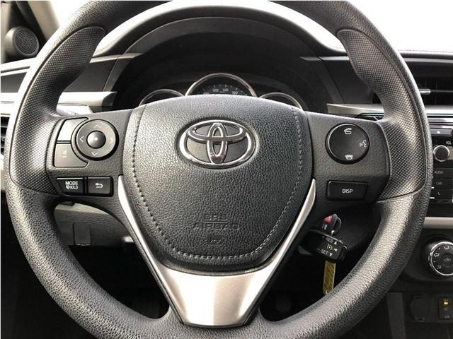 2014 Toyota Corolla LE (Stk: SF122) in North York - Image 11 of 17