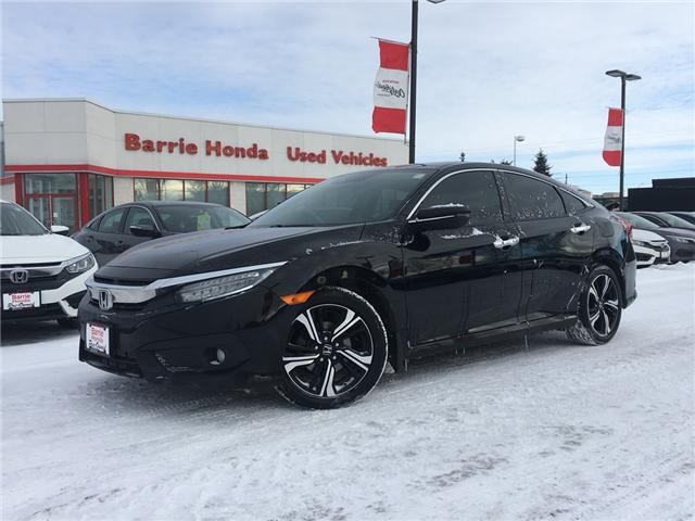 2016 Honda Civic Touring (Stk: U16822) in Barrie - Image 1 of 19