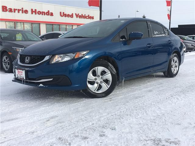 2015 Honda Civic LX (Stk: U15455) in Barrie - Image 1 of 16