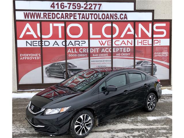 2015 Honda Civic EX (Stk: 010241) in Toronto - Image 1 of 16