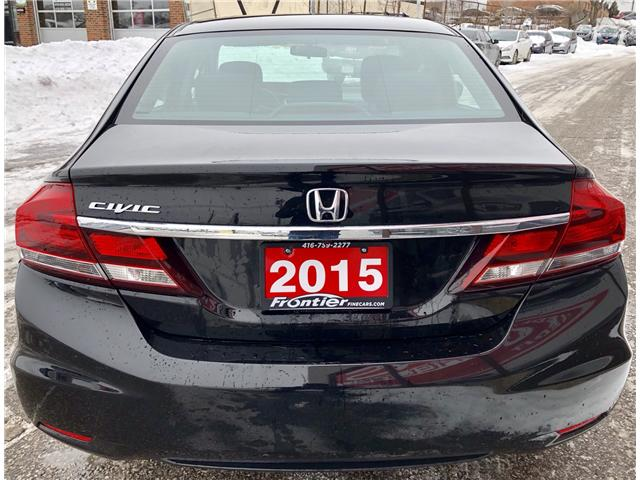 2015 Honda Civic EX (Stk: 010241) in Toronto - Image 6 of 16